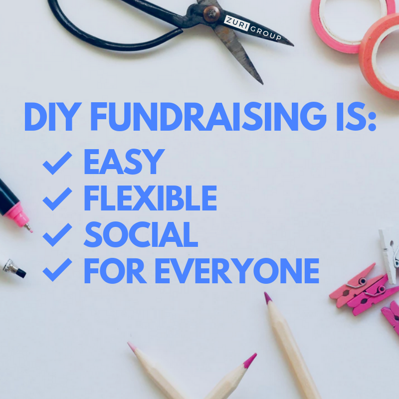 DIY Fundraising - Does your nonprofit organization have a DIY Fundraising program in place? Zuri Group can help!