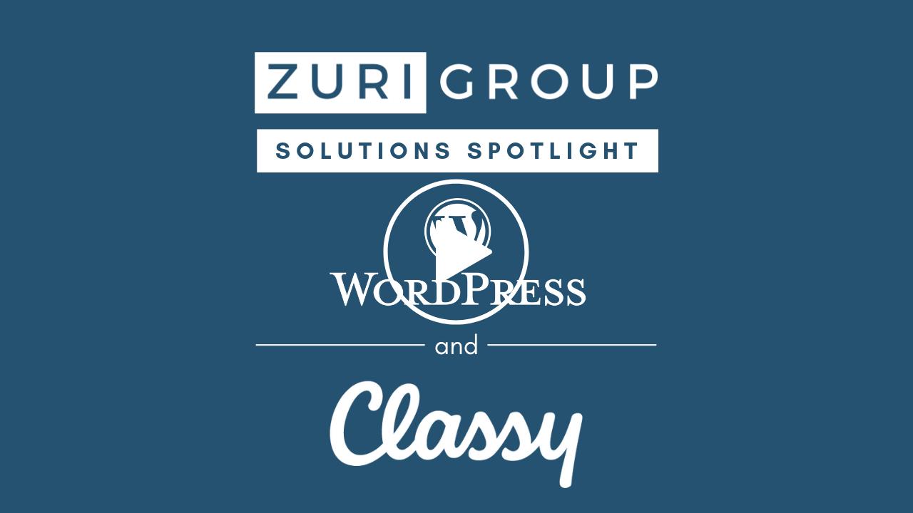 Zuri Group's Classy Plugin for WordPress