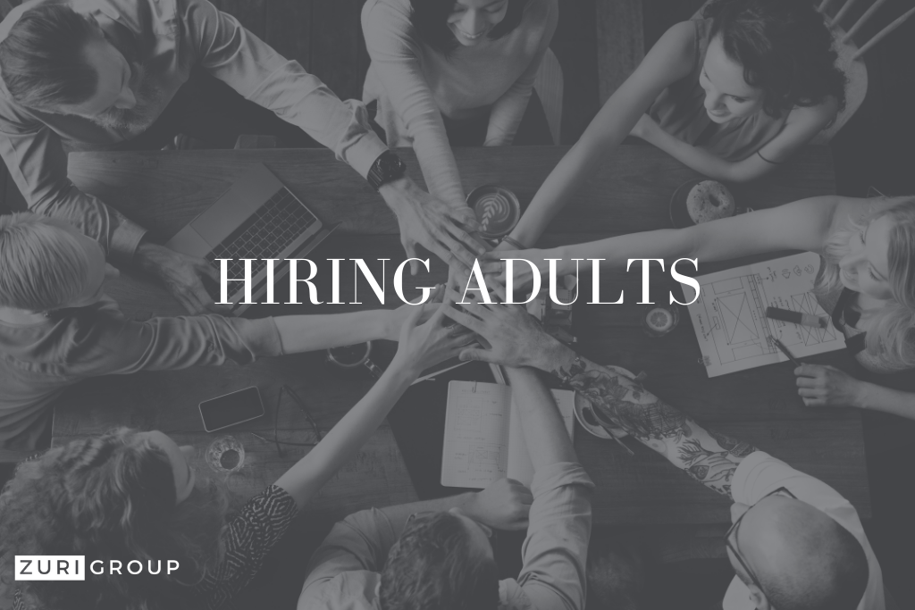 recruit talent hire adults